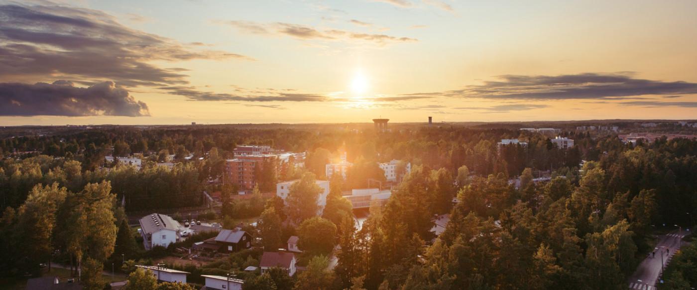 Ilmakuva Vantaa